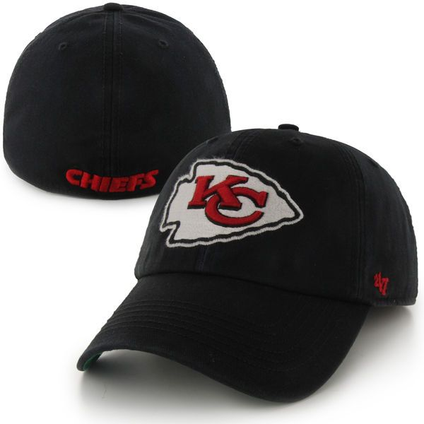 Kansas City Chiefs '47 Brand Franchise Fitted Hat – Black - $29.99