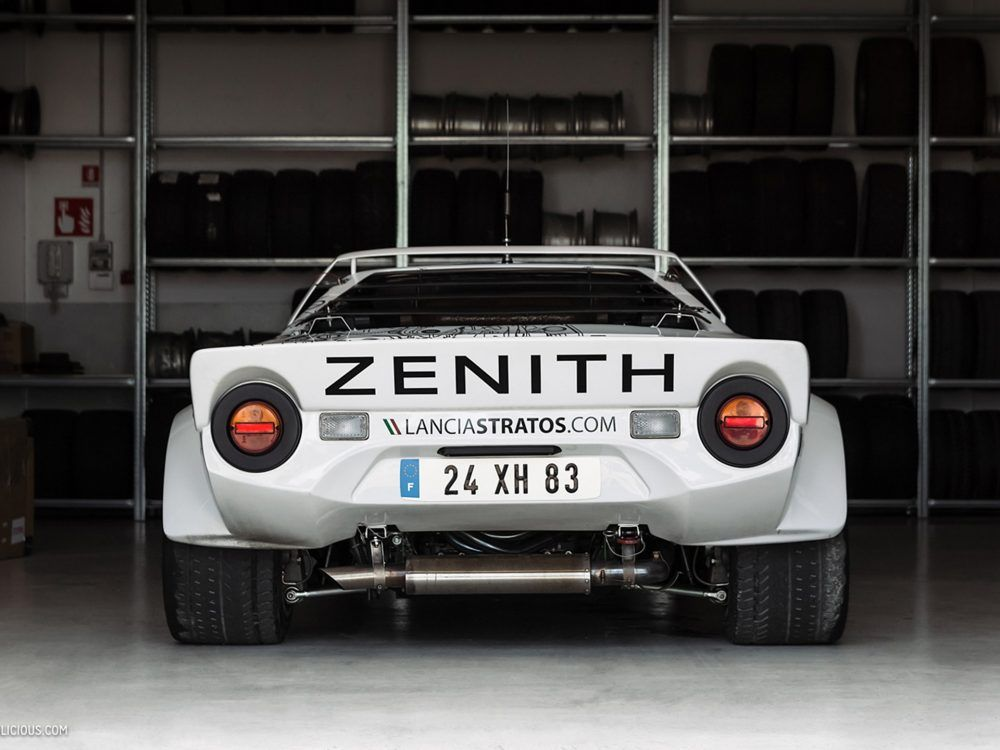 This heavenly garage only works on lancia rally cars for Auto satisfaction garage