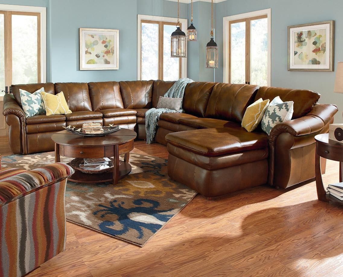 Lazy Boy Sectional Sofa Sectional Sofa With Recliner Reclining