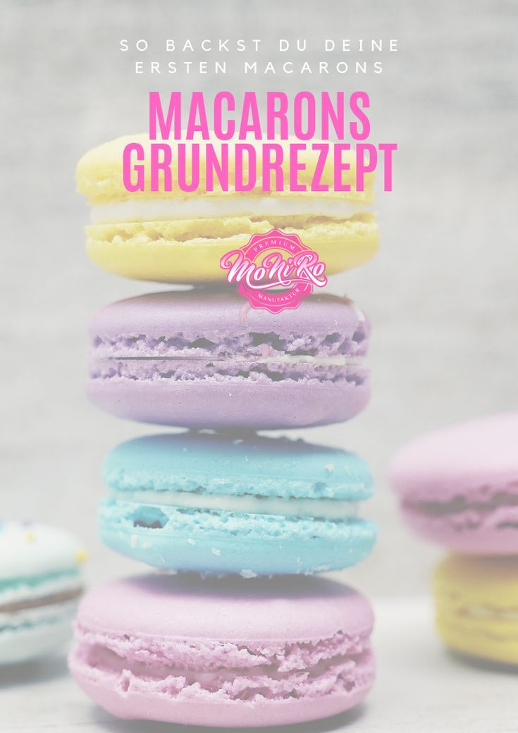Grundrezept für Macarons
