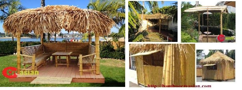 Easy To Build Gr Huts Tiki Hut Kits Bamboo Plans Complet