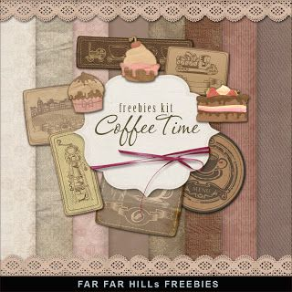 New Freebies Kit - Coffee Time