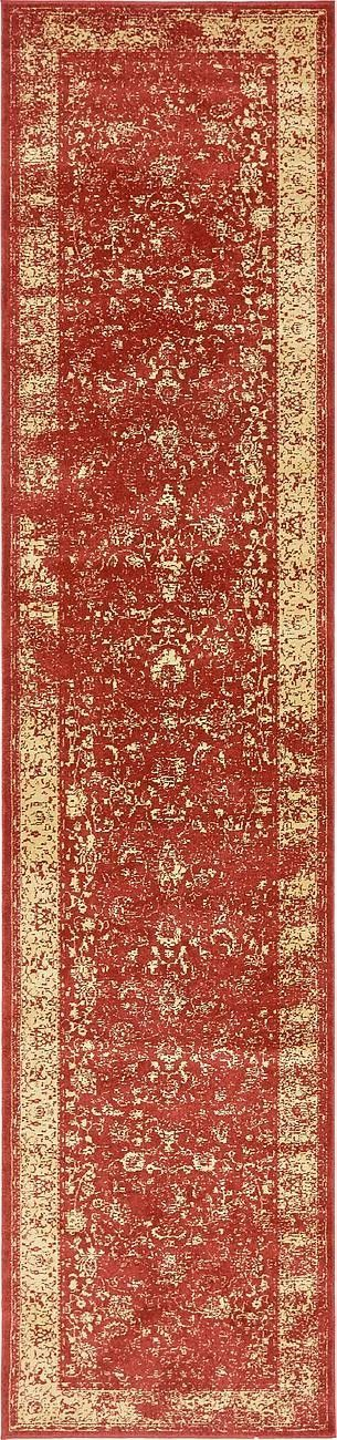 Tonsey Imperial Red Area Rug