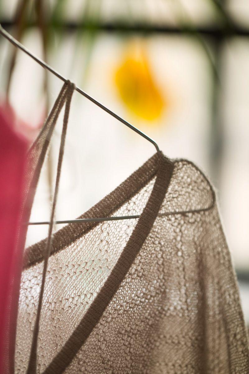 MUSKHANE Summer 2014, cashmere looseknit, detail #muskhane