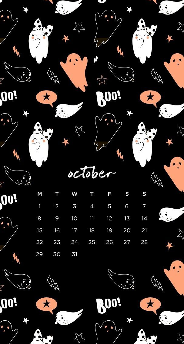 October 2018 calendar wallpaper iPhone Halloween #octoberwallpaperiphone October 2018 calendar wallpaper iPhone Halloween #octoberwallpaper