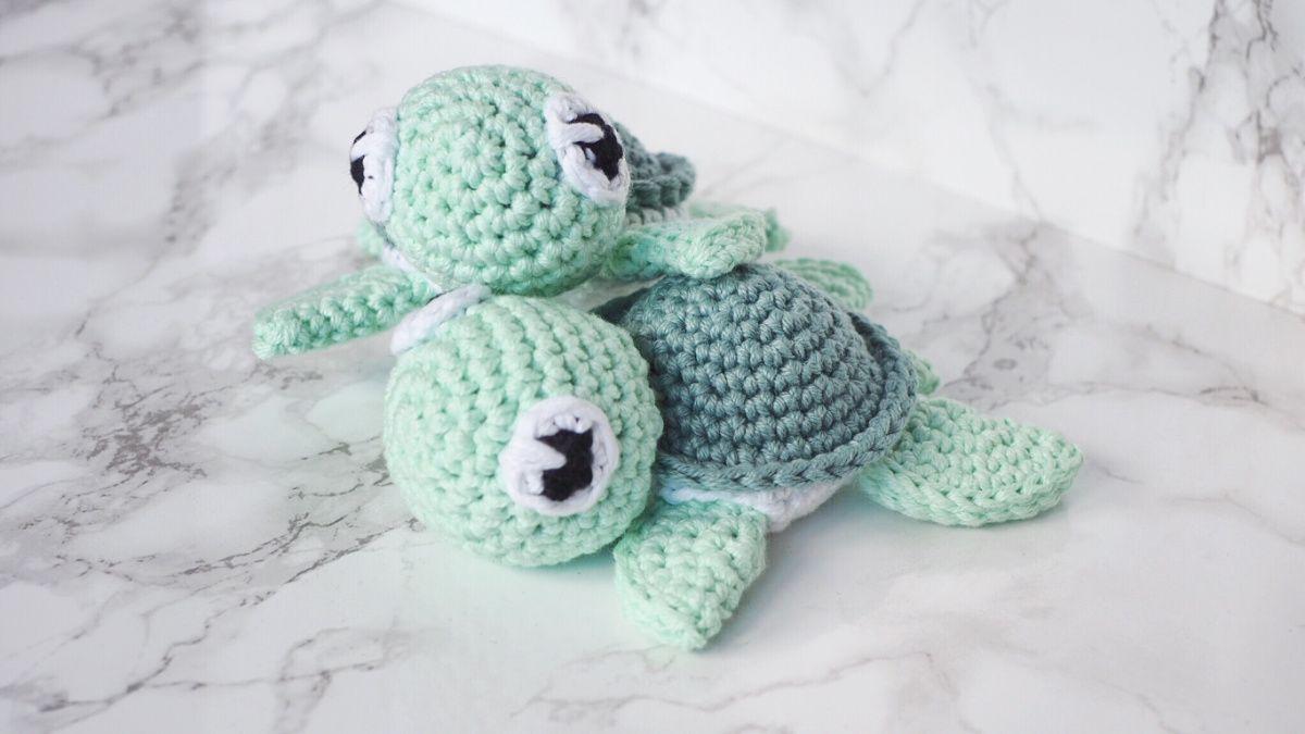 Häkeln: Amigurumi Schildkröte | Kleine schildkröten, Schildkröten ...