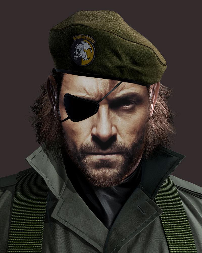 Hugh Jackman Would Make A Great Big Boss In Mgs3 From Reddit Snake Metal Gear Big Boss Metal Gear Metal Gear