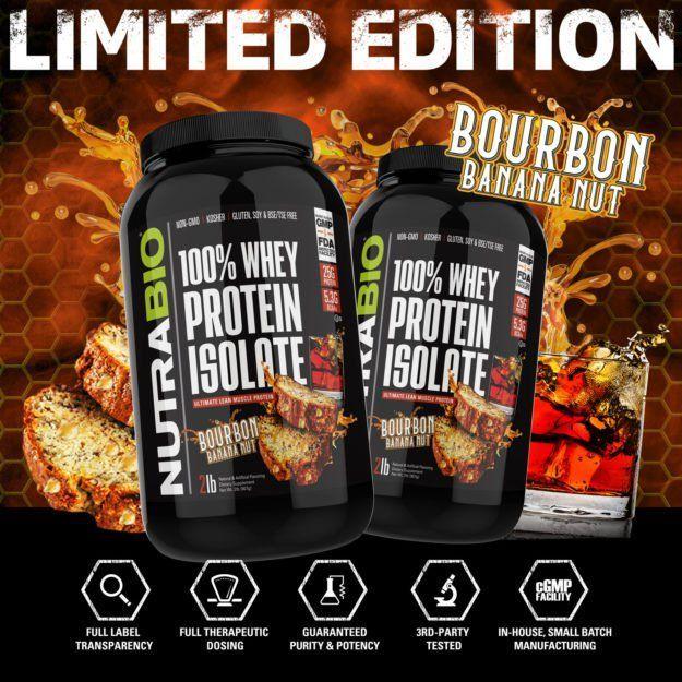 Bourbon Banana Nut Protein?! NutraBio Takes Whey Isolate to
