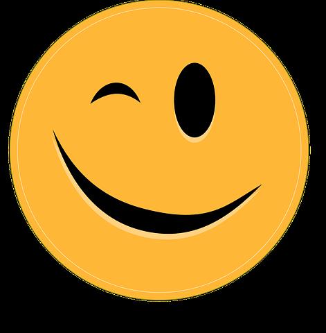 Smiley, Clin D'Oeil, Émoticône   Dites-lui ...   Clin d ...