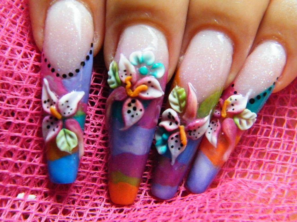 Images Of 3d Nail Art Nail Art 3d Nail Art Design Liking The