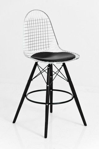 modshop1 eames wire barstool 225 counter and bar stools