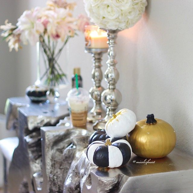 Decorated Her Sequoia Console Table For Fall  Gorgeous!