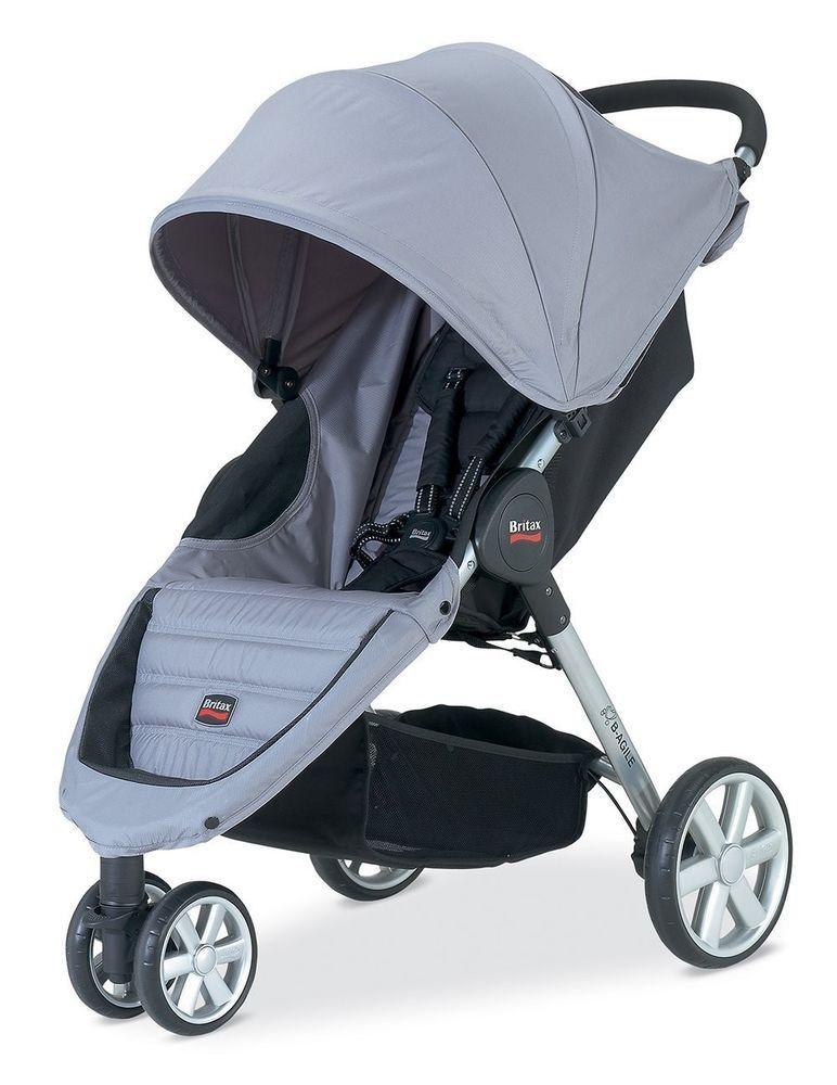 Britax 2013 BAgile Stroller in Granite Brand New! Free