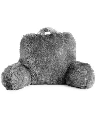 Backrest Pillow Gray Backrest Pillow Grey Pillows Grey
