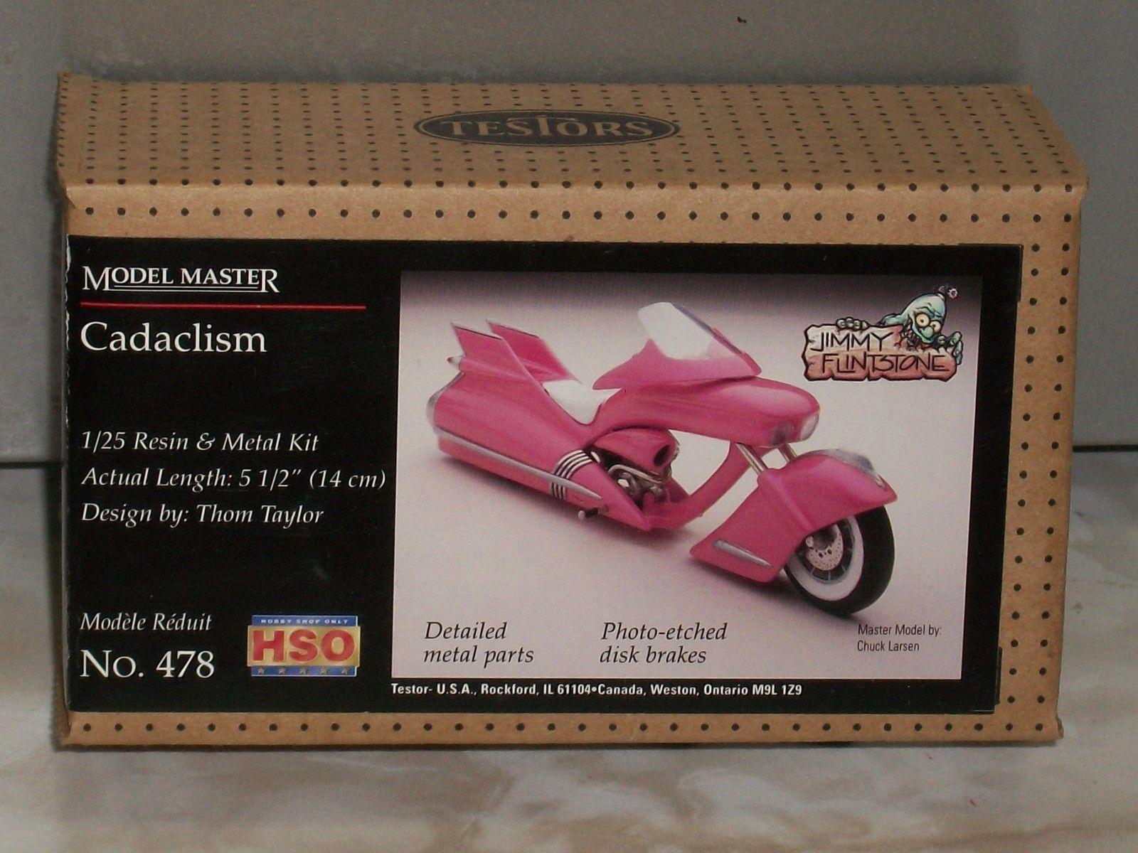 Classic 2581 Testors 1 25 Scale Cataclism Custom Motorcycle BUY