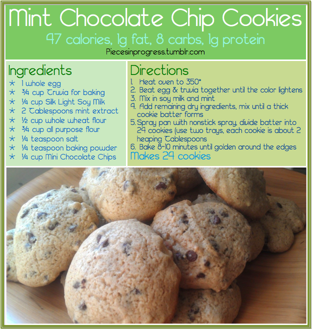 Cookies around 50 calories mint chocolate chip cookies recipes cookies around 50 calories mint chocolate chip cookies forumfinder Images