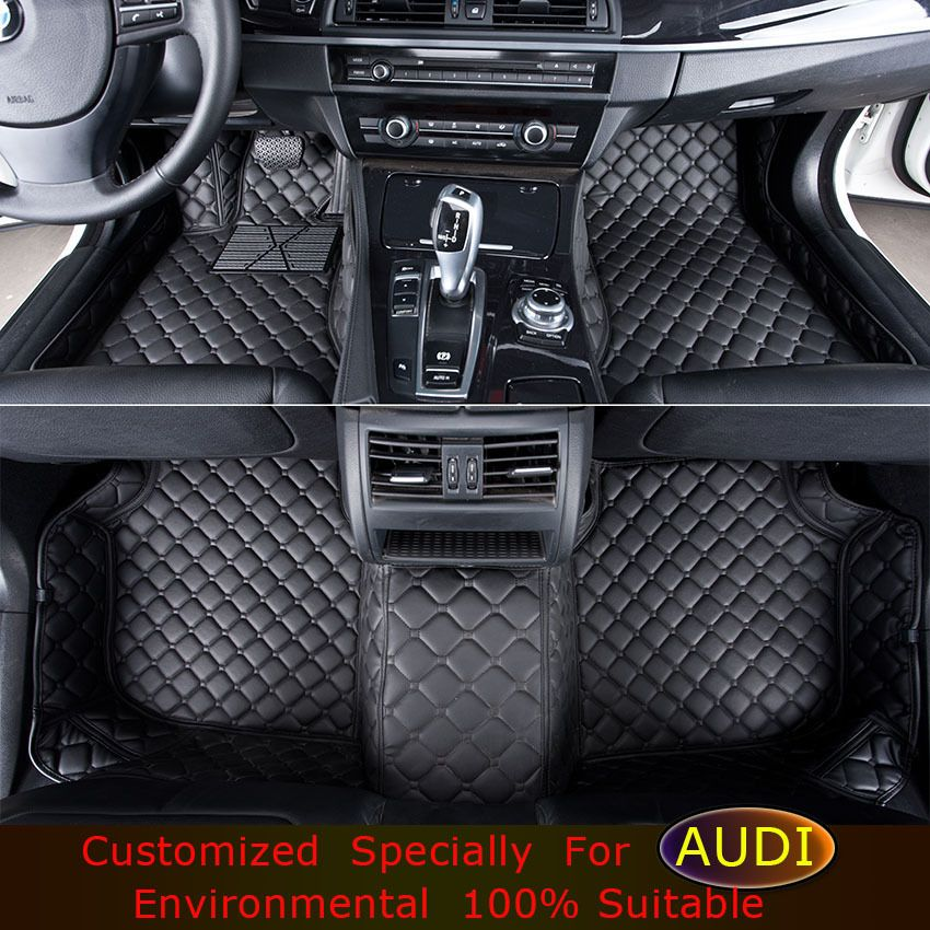 Car Floor Mats For Audi A1 A3 A4 A5 A6 A7 A8 Q3 Q5 Q7 Car Styling Foot Mats Custom Carpets Accessories Rugs Carpet For Car China Mainland