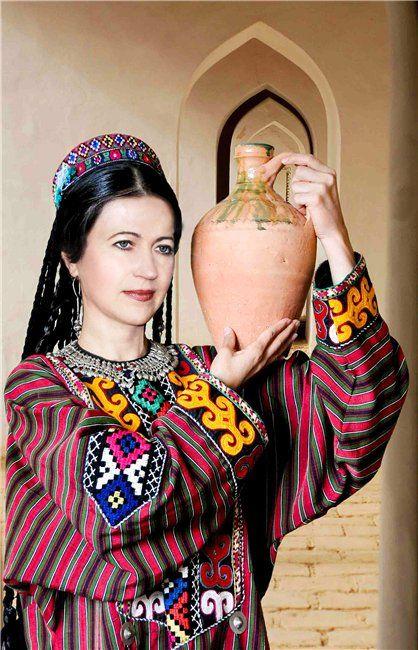 Фото узбечек в национальной одежде