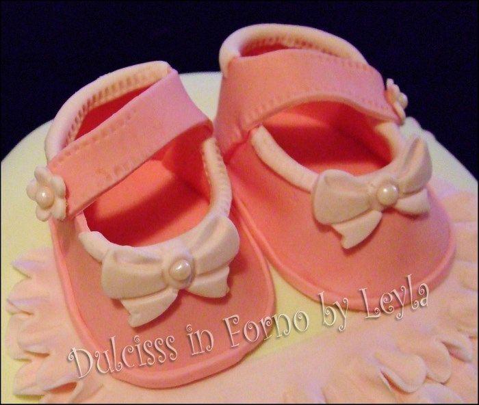 scarpe in pasta di zucchero