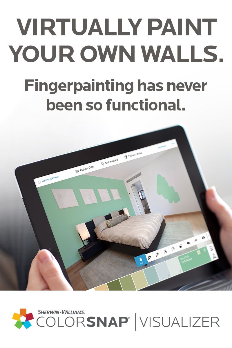 Leave less to the imagination colorsnap visualizer for for Paint your own room visualizer