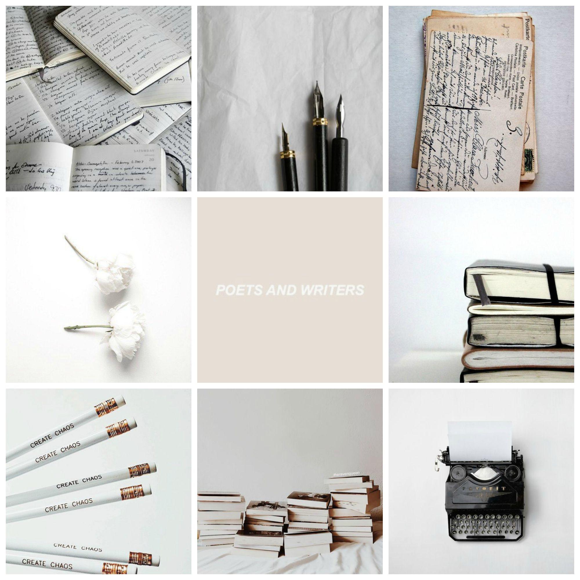 Resultado de imagen de writing aesthetic