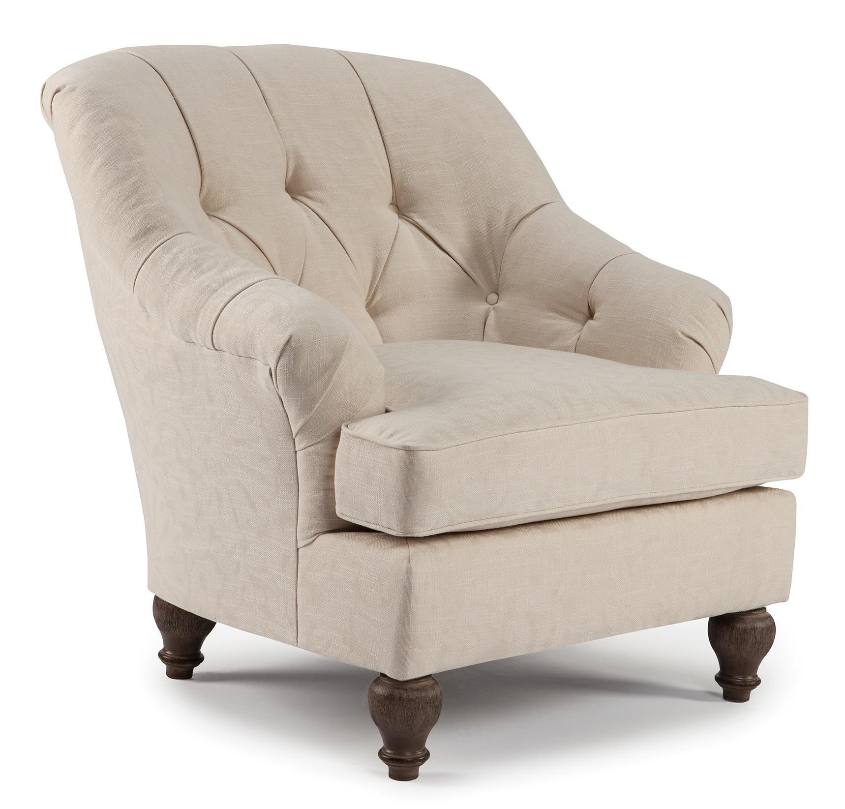 Best Home Furnishings Chairs Club Hobart Club Chair Old Brick
