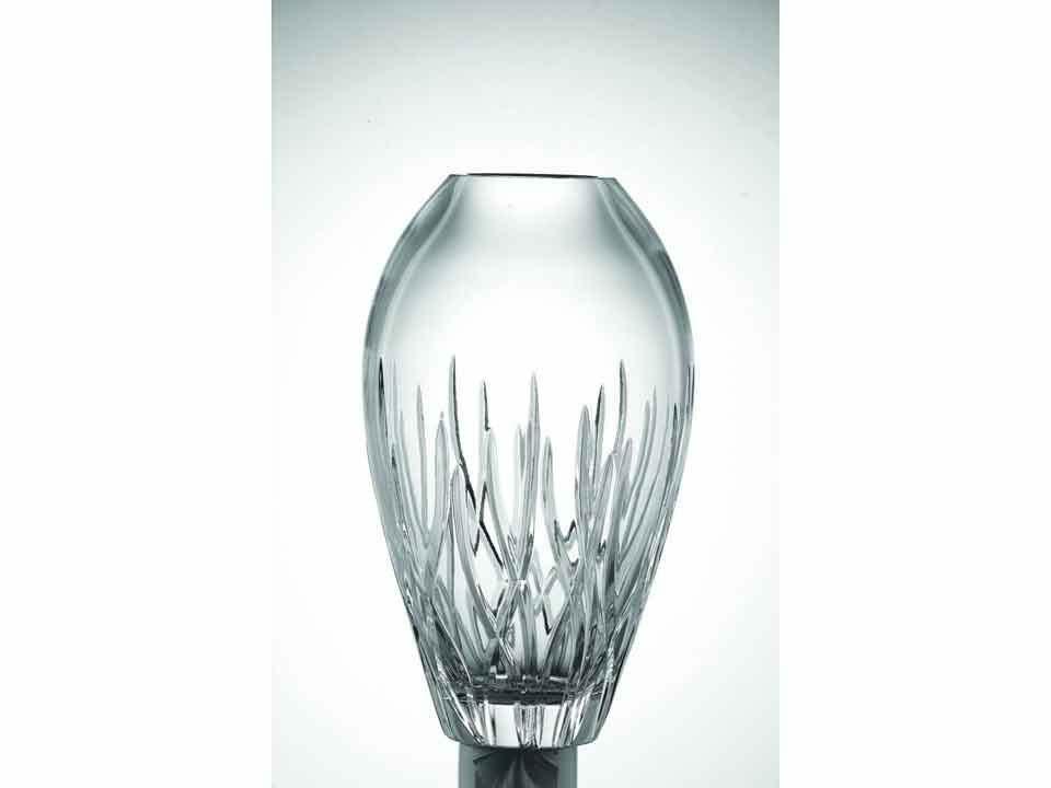 Galway Crystal Fire 12 inch Tulip Vase