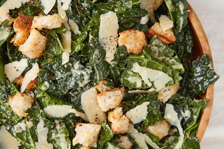 Recipe: 5-Ingredient Kale Caesar Salad 5-Ingredien