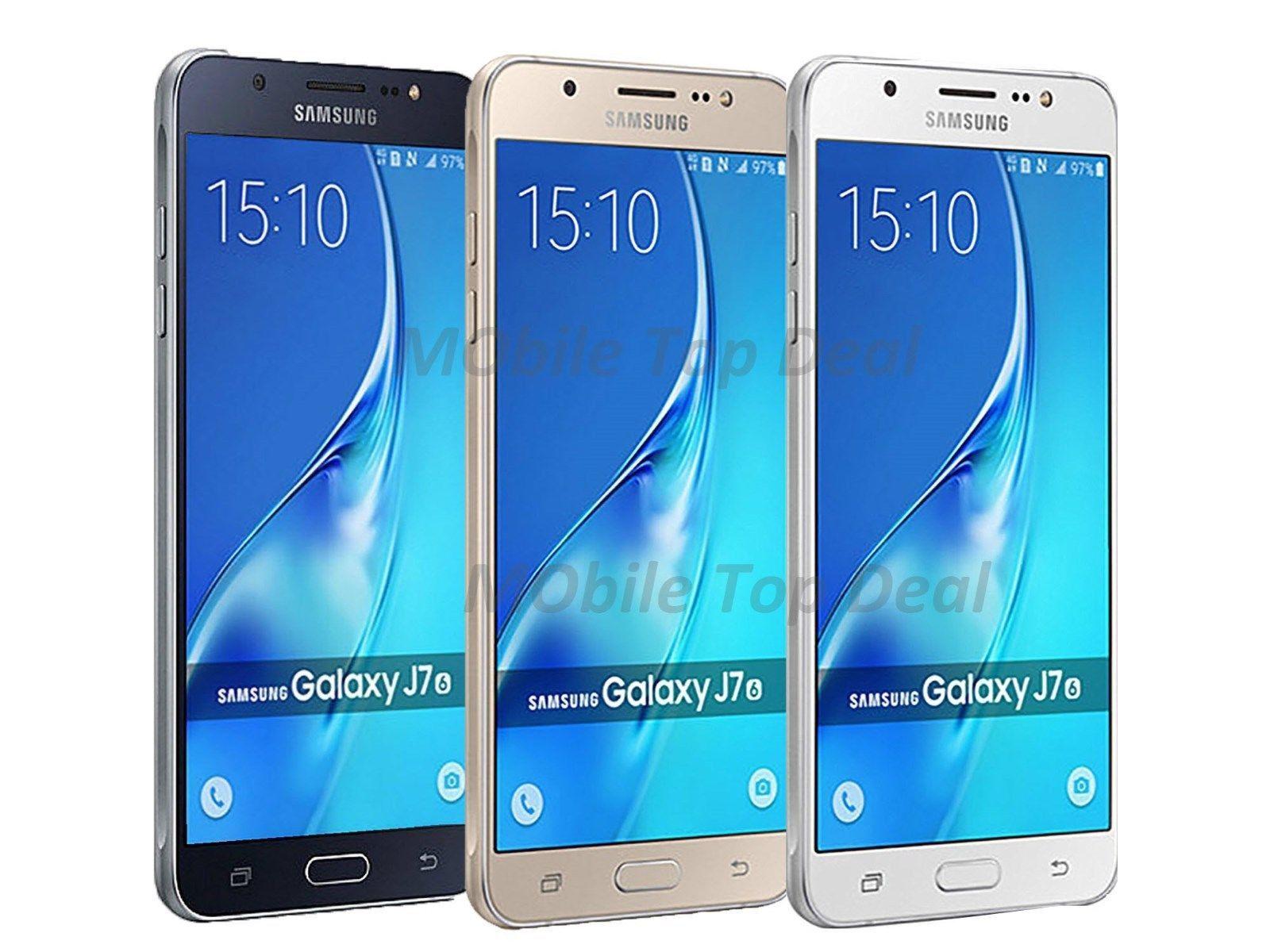 Samsung Galaxy J7 2016 LTE SM J710M GSM Factory Unlocked 5 5″ Octa