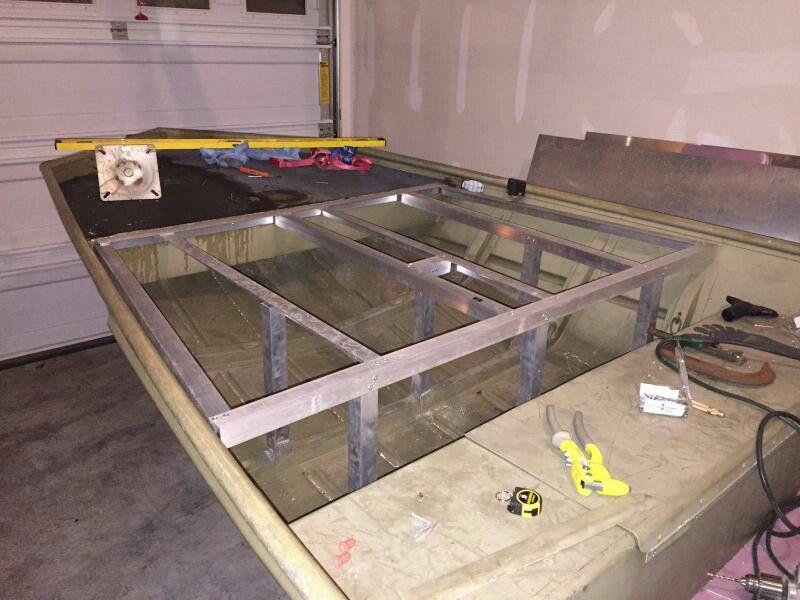 Jon Boat Deck Mod