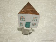 Matthew 7:24-27 Build Your House on the Rock - This story is a great reminder for kids to build a strong foundation. Technology, friends, and stuff won't always be there, but God will.
