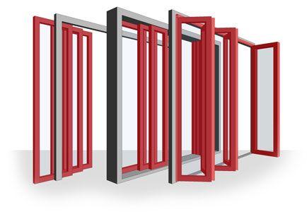 All In One Revit Bi Fold Sliding Door Family The Frame System With Images Sliding Doors Home Decor