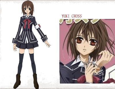 Vampire Knight Characters Yuki Cross Vampire knight