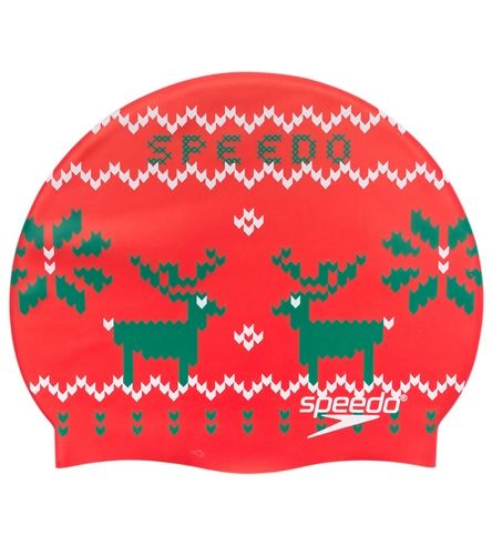 Speedo Ugly Sweater Silicone Swim Cap | Everything good ...