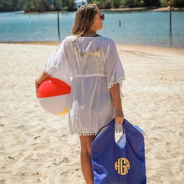baebfa10609f5 Pineapple Posh Cooler Tote in 2019 | Products | Bags, Beach, Pineapple  monogram