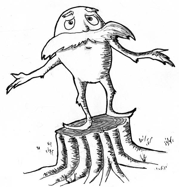 Pin on The Lorax Coloring Pages