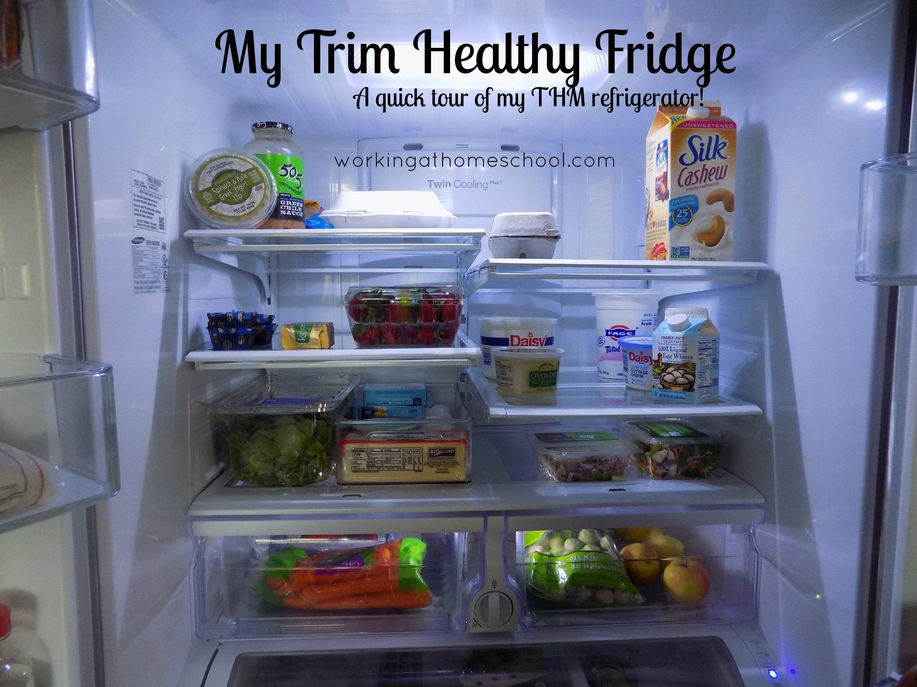 A Trim Healthy Mama Fridge