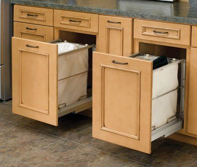 Beautiful Pull Out Hamper Cabinet