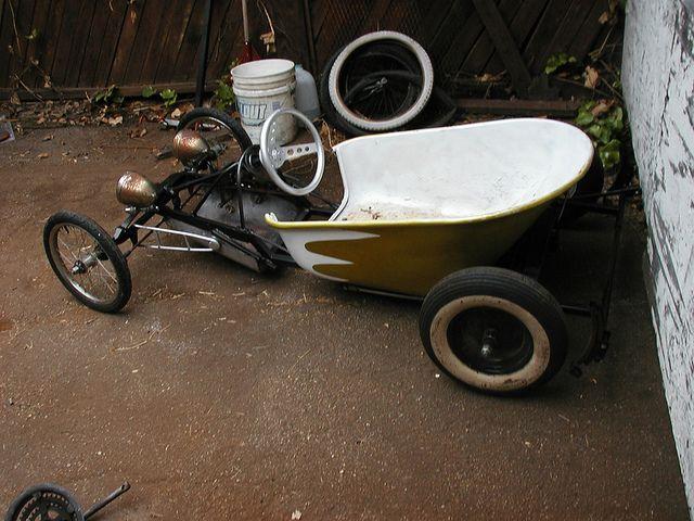 Tunear Bicicleta De Niño: The Bucket Soapbox Car Rebuild