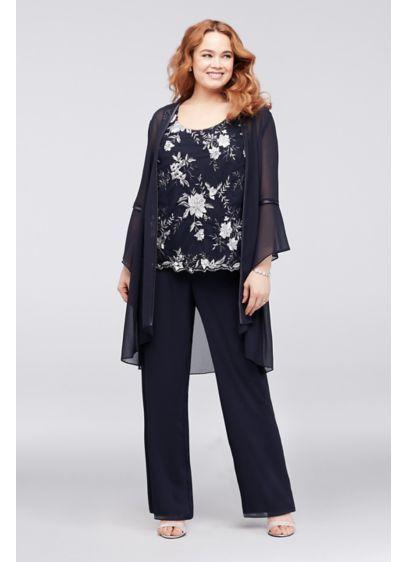 55e15615b1b Long Jumpsuit Jacket Formal Dresses Dress - Le Bos   Mother of the ...