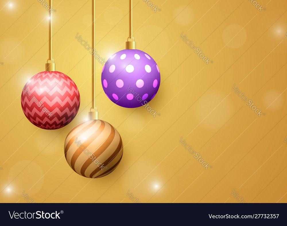 Christmas Ball On Golden Background Merry Christmas And Happy New Year Background In 2021 Christmas Balls Happy New Year Background Merry Christmas And Happy New Year 2021 happy new year christmas ball