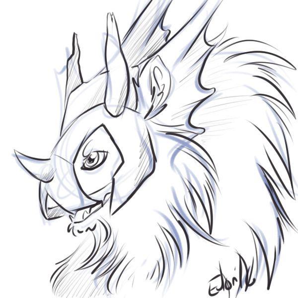 a thank you to battler over on fr dragon flightrising art doodle drawing digitalart