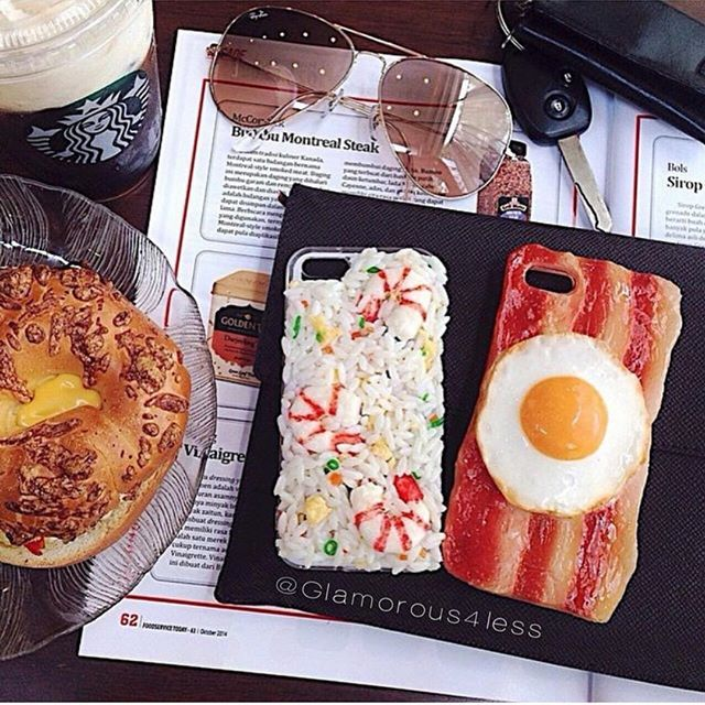 new style 5705b 6b703 Our New 3D Food Phone case This delicious new twist on the phone ...