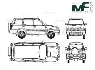 Nissan terrano 5 doors 2002 blueprints ai cdr cdw dwg dxf nissan terrano 5 doors 2002 blueprints ai cdr cdw malvernweather Image collections
