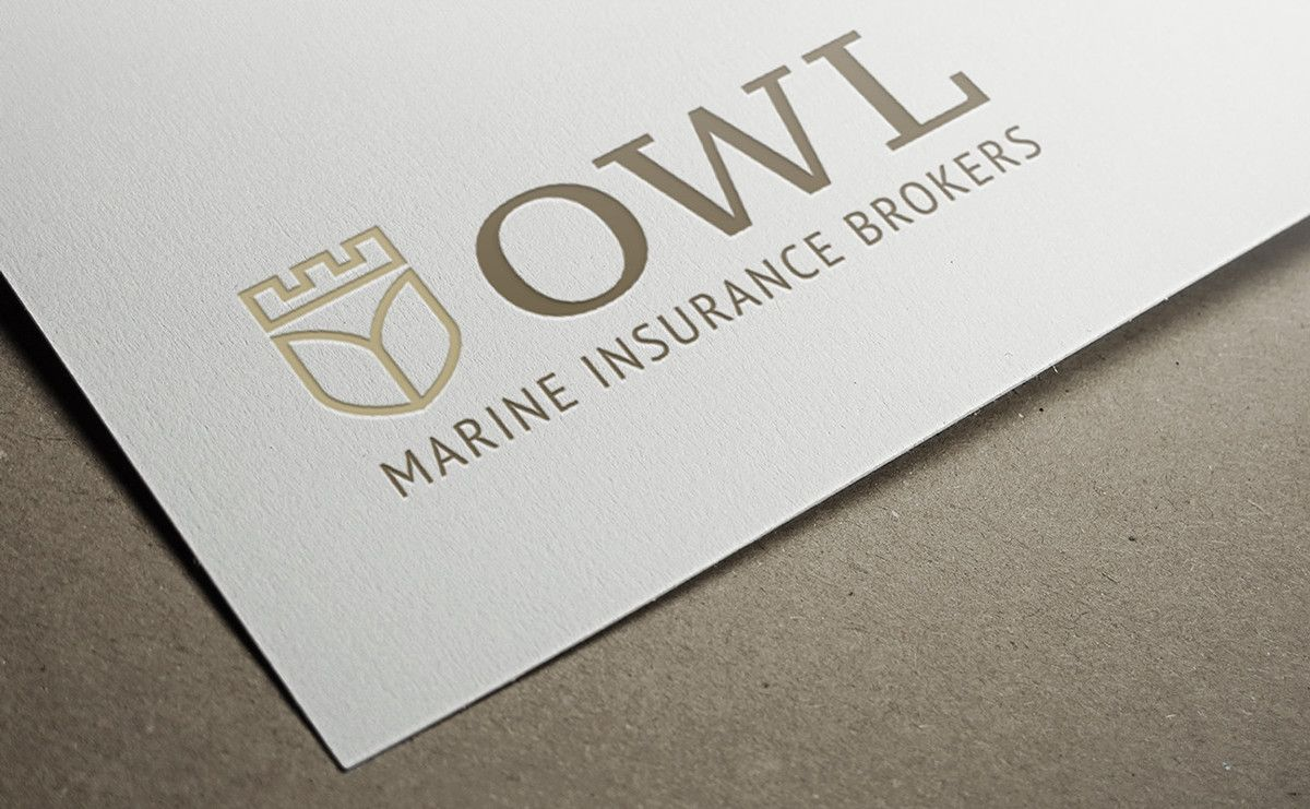 Owl Marine Insurance Brokers Corporate Design On Behance