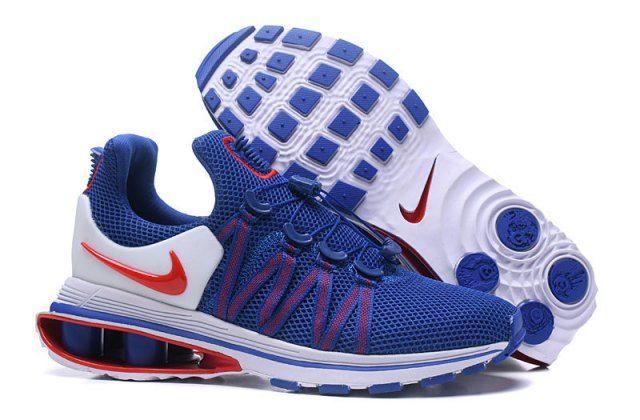 5353f983002a Nike Shox Gravity Game Royal White University Red AR1999 406 Mens Footwear