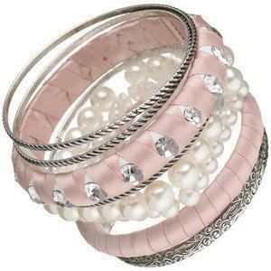 great pink and silver