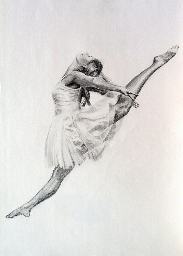 stunning ballerina drawings and sketches 8
