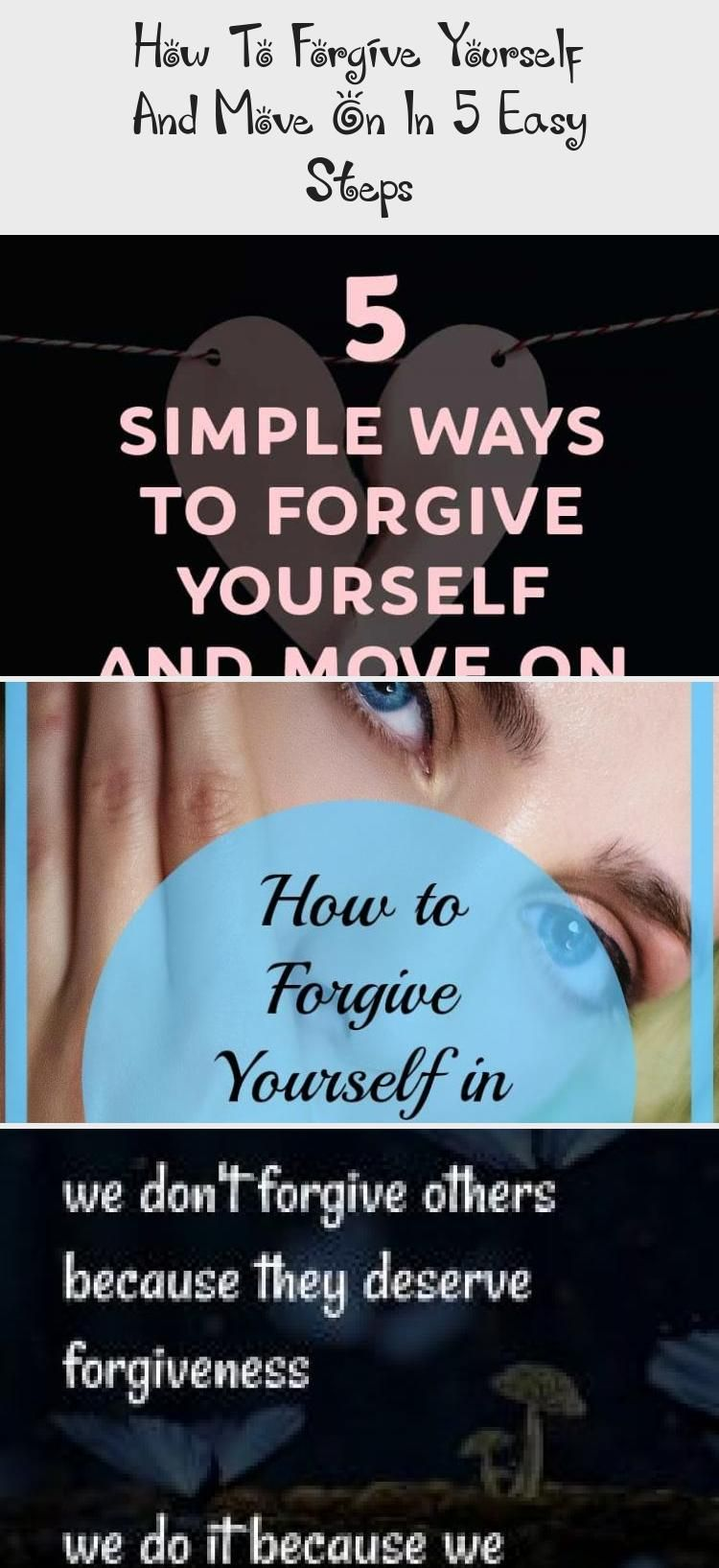 How To Yourself And Move On In 5 Easy Steps