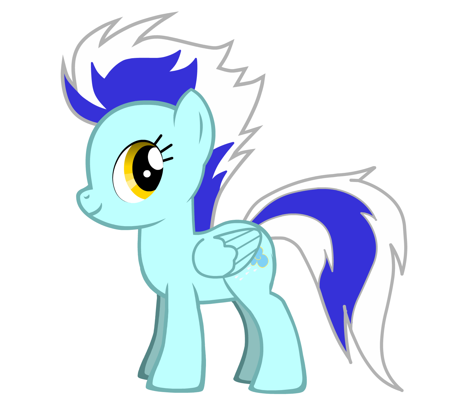 My Little Pony Creator Filly Rain Chaser